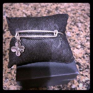 Alex and Ani Lucky clover bracelet
